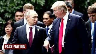 Why is President Trump meeting with Russian leader Vladimir Putin?