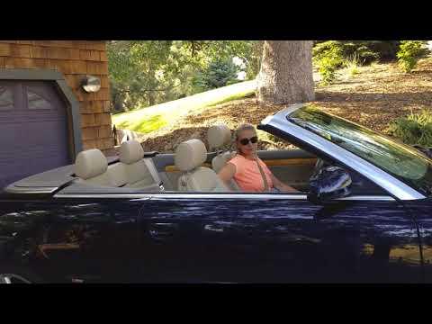 Audi а 4 кабриолет. Моя модная машина в США. Открываем крышу.