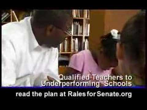 Josh Rales for United States Senate - Education