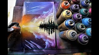 Perfect reflection - SPRAY PAINT ART by Skech