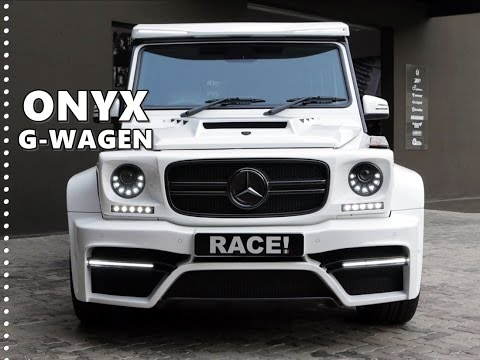 Onyx Concept Mercedes G Wagen by RACE! - YouTube