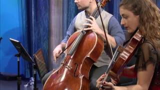 Dover Quartet plays Mozart's Quartet in F Major, K  590  4th mvt