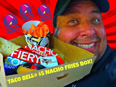 TACO BELL® $5 NACHO FRIES BOX RETURNS!