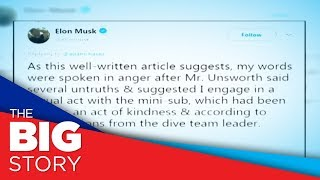 Elon Musk apologizes to British cave diver
