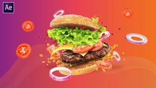 Food Menu Promo Opener In After Effects | After Effects Tutorial | Effect For You
