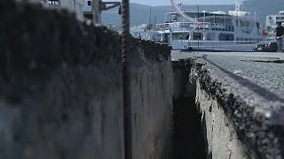 Na ilha grega de Kos avaliam-se os estragos do sismo