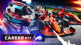 F1 2019 Career Mode Part 77: THIS RACE IS SAVAGE