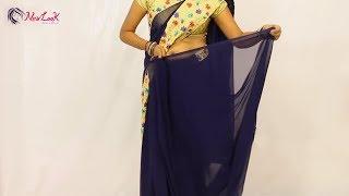 Latest Saree Draping Video Tutorial | Newlook