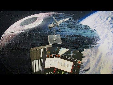 A/SF-01B-Wing    -   Unboxing e Review - X-Wing Jogo de Miniaturas Segunda Edição