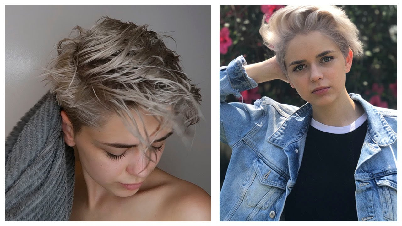 MY HAIR ROUTINE! - Girls With Short Hair