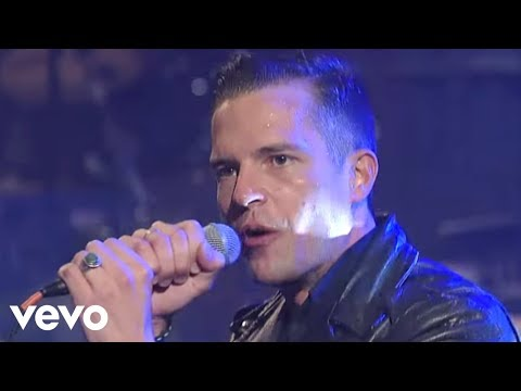 The Killers  Mr Brightside  On Letterman