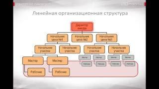 видео Линейная организационная структура