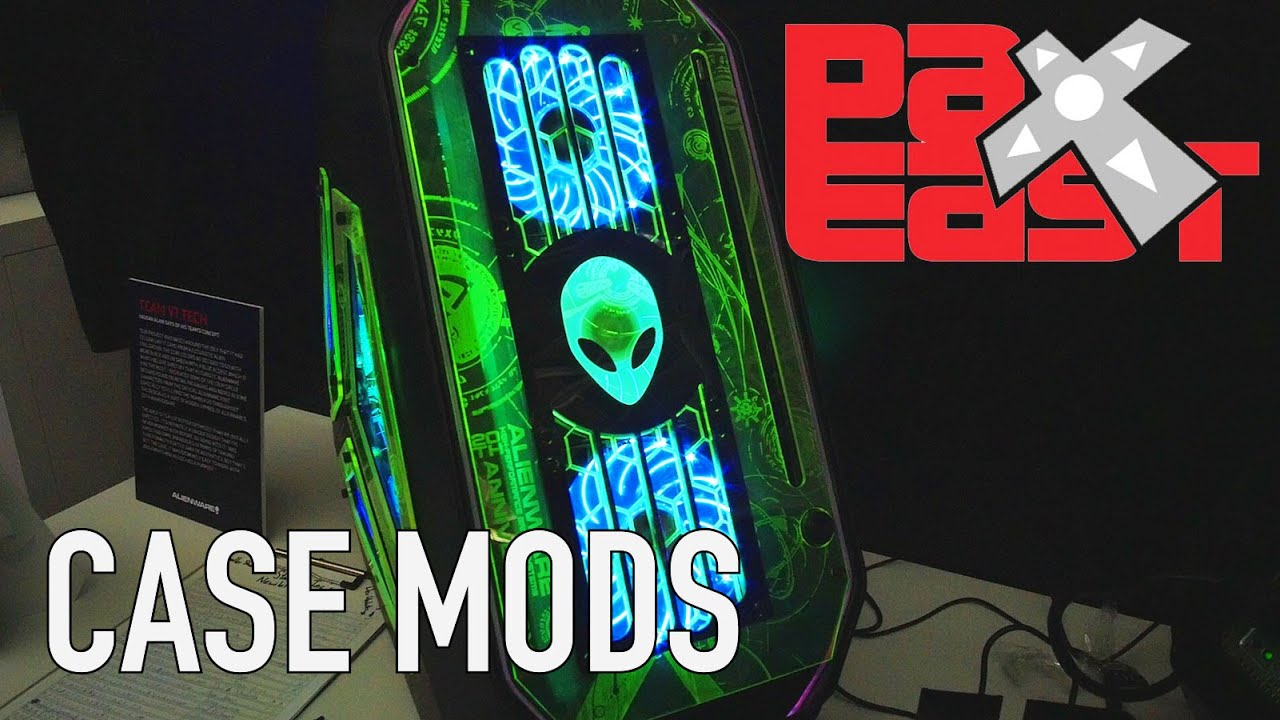 Epic Case Mods From V1 Tech | PAX East 2016