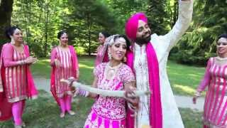 Graceful Sikh/Beautiful Indian Wedding/Punjabi Sikh Wedding/ Wedding Story Of Amy + Japi