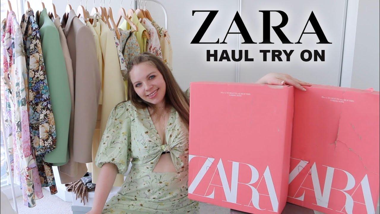 SUMMER ZARA HAUL TRY ON - Size 8/10 Girl (The Best New In Zara)