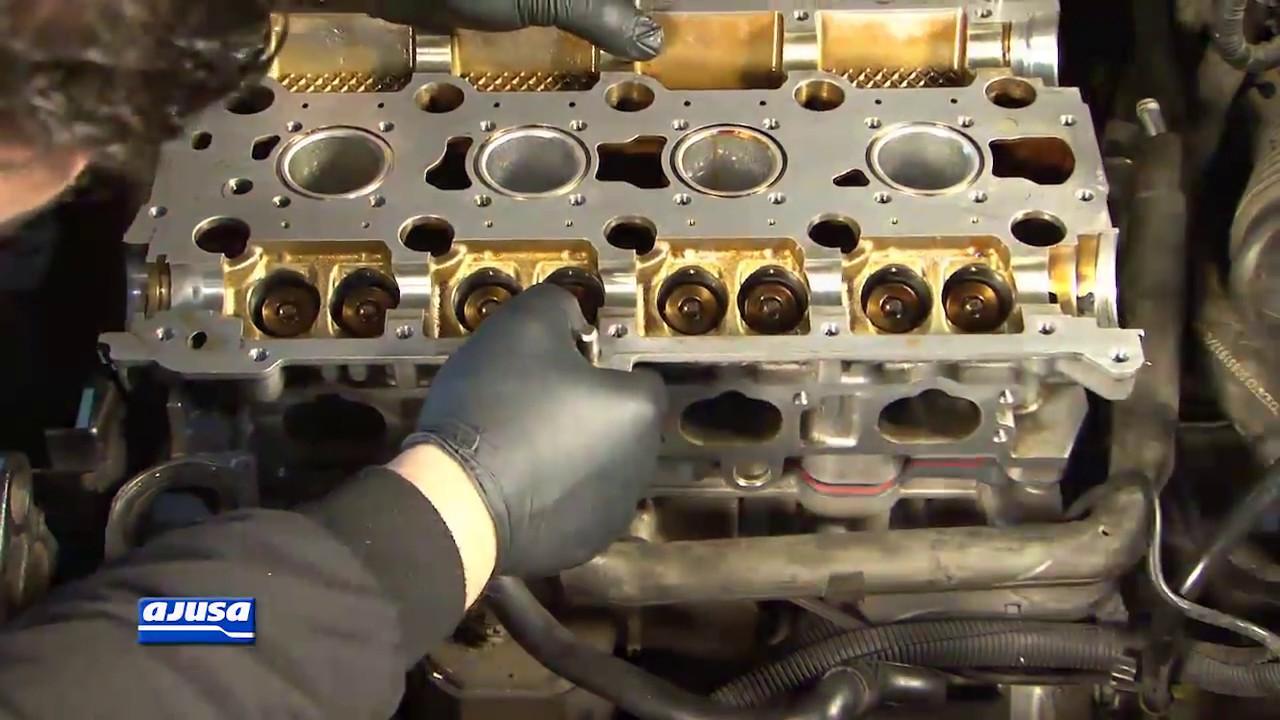 Cylinder head gasket /Junta culata VOLVO S40 TURBO 16V B4204T . - YouTube