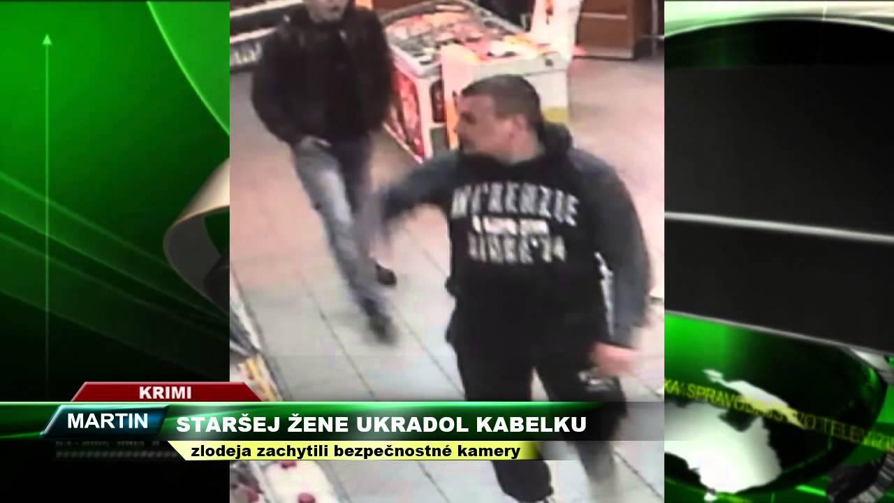 TV SEVERKA - Staršej žene ukradol kabelku - YouTube 4599ff4fbc4