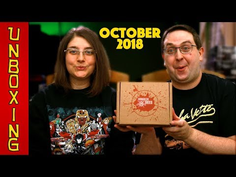 UNBOXING! Horror Bees October 2018 - Horror Movie Blu Ray Subscription Box