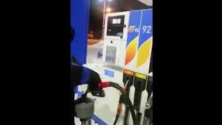 Stealing gasoline in Russia. Газпромовские мечты быстренько сбылись.