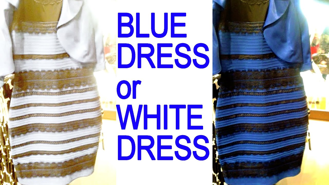 White and Gold or Blue and Black Dress Explained & Busted - YouTube