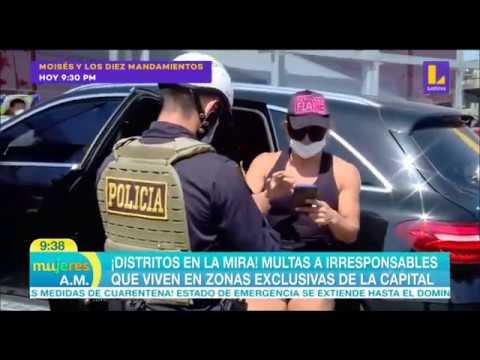 Intervienen a mujer médico por salir en su auto a hacer compras infringiendo normas de cuarentena