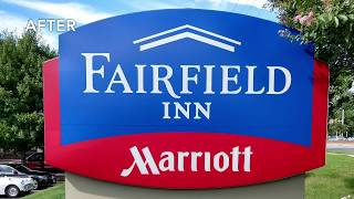 Fairfield Inn - Sign Refurb