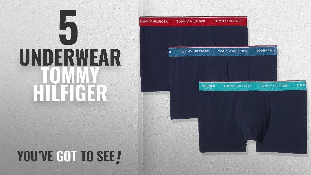 625a4a2b Top 10 Underwear Tommy Hilfiger [2018]: Tommy Hilfiger Men's 3 Pack Premium  Essentials Boxer Shorts
