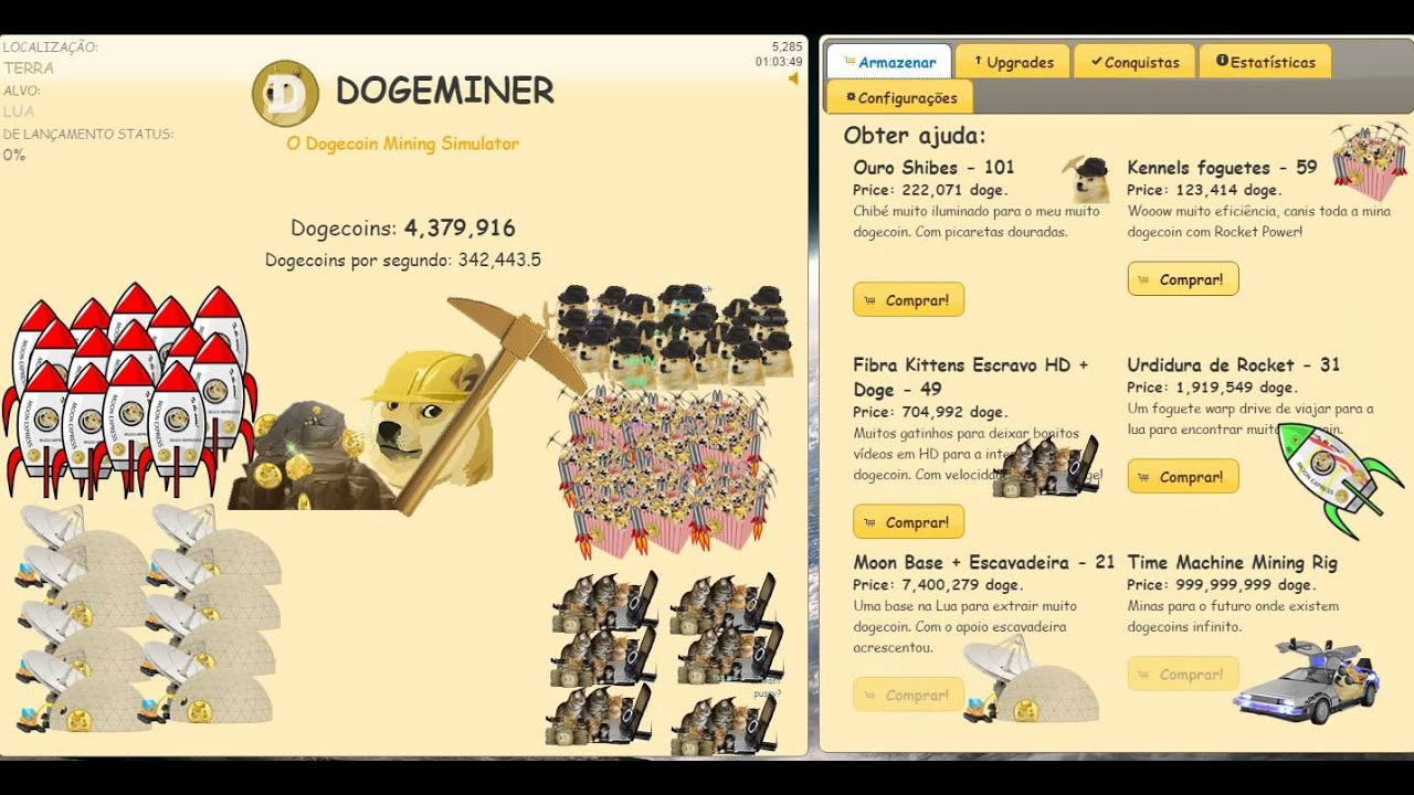 dogeminer  segundo episodeo youtube