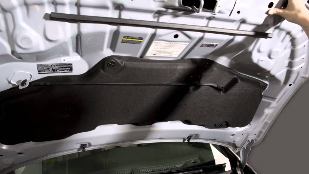2017 Nissan Sentra Hood Release