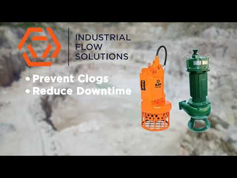 Hard Metal Submersible Slurry Pumps for the Mining Industry - Industrial Flow Solutions