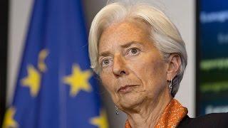Lagarde Says Political Uncertainties Threaten Global Growth