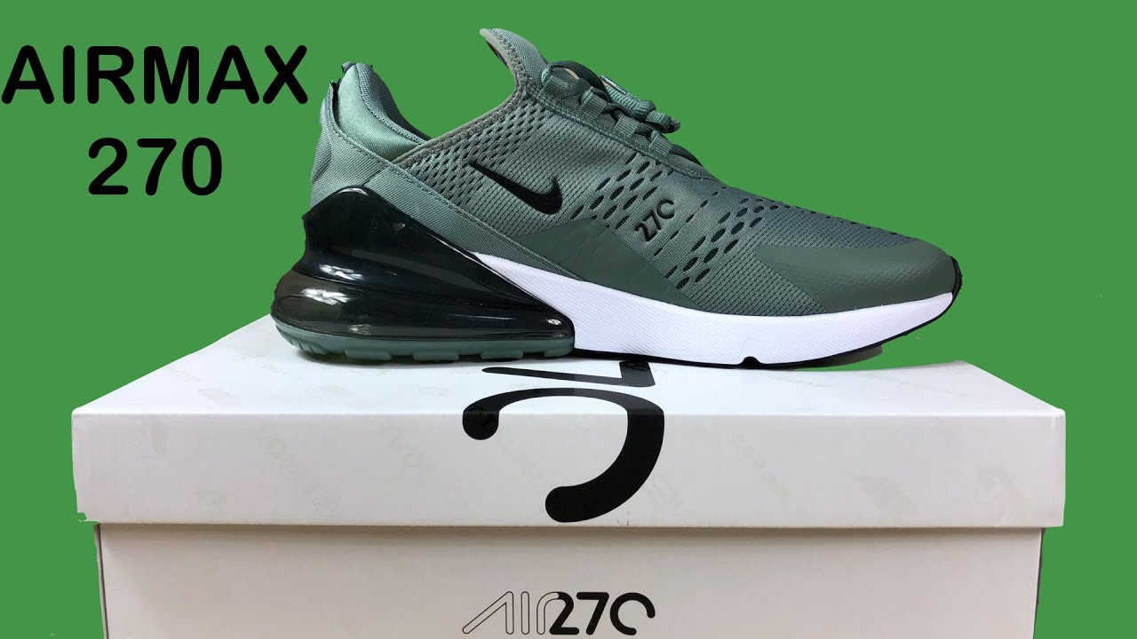reputable site e821a fe6bd Airmax 270 - clay green/deep jungle/white/black