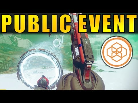 Destiny 2 Beta: PUBLIC EVENT! How to Activate Storm Minotaurs on Nessus!