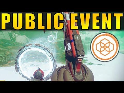Destiny 2 Beta: PUBLIC EVENT! How to Activate Storm Minotaurs on Nessus!