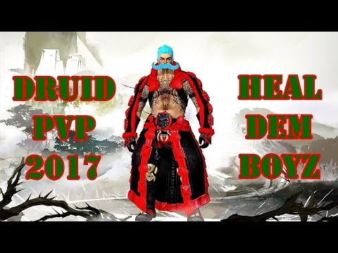 Guild Wars 2 – Druid PvP / healing Gameplay 2017