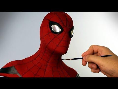 Spider-Man Sculpture Timelapse - Spider-Man: Homecoming