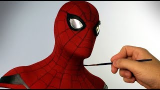 Spider-Man Sculpture Timelapse - Spider-Man: Homecoming