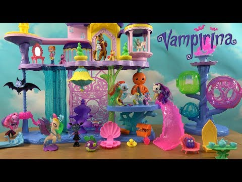 Vampirina Story: Vampirina Dream About My Little Pony Friendship Kingdom and MLP Friends
