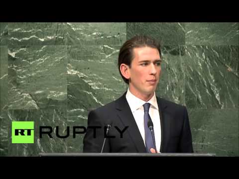 UN: Europe's approach to refugee crisis is supporting smugglers - Austrian FM Kurz