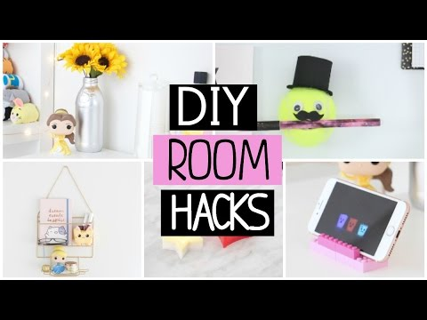 7 Diy Room Decor Life Hacks You Need To Try Youtube