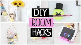7 DIY ROOM DECOR LIFE HACKS YOU NEED TO TRY!