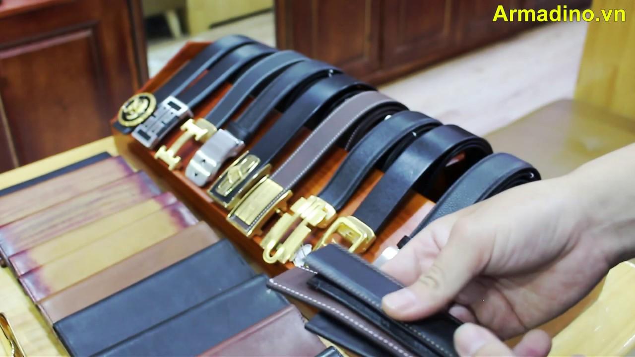 Lưu ý khi chọn mua thắt lưng, dây nịt | Armadino