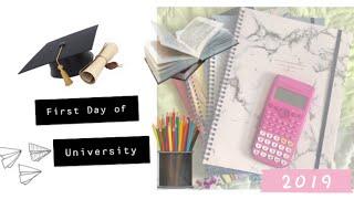 VLOG: First day of University | FRESHER 2019 | SOUTH AFRICAN YOUTUBER | OG Parley