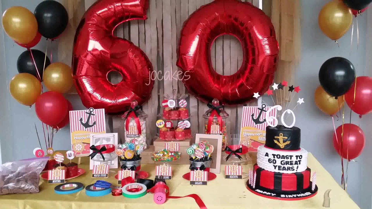 80th Birthday Decoration Ideas For Dad
