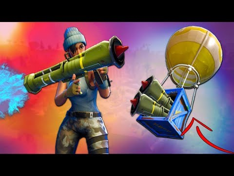 3 GUIDED MISSILE LAUNCHERS in 1 GAME! - Fortnite Battle Royale