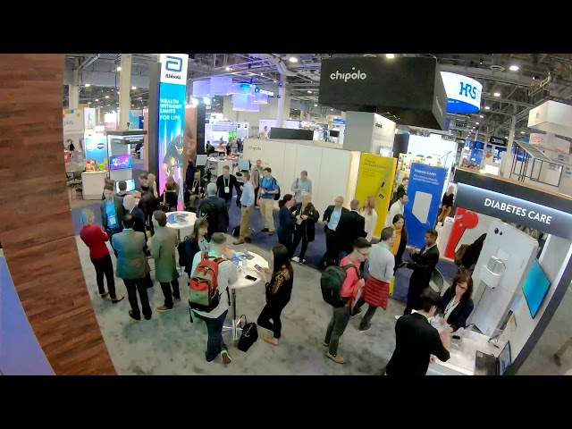 Abbott @ CES: Time lapse: Our Booth At CES 2020