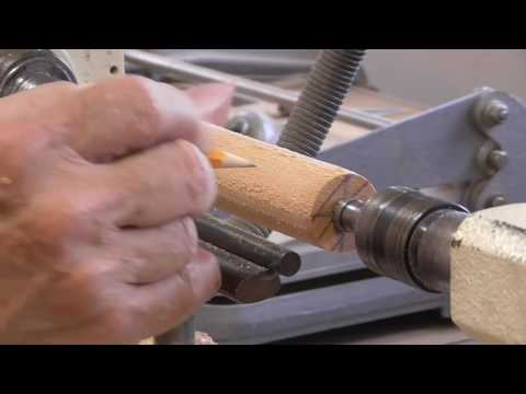 Woodturning an Icicle Ornament - A video for new woodturners