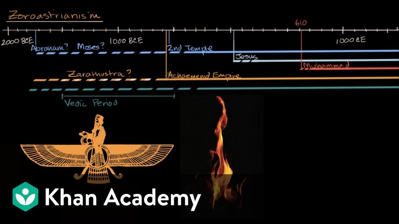 Zoroastrianism World History Khan Academy Youtube