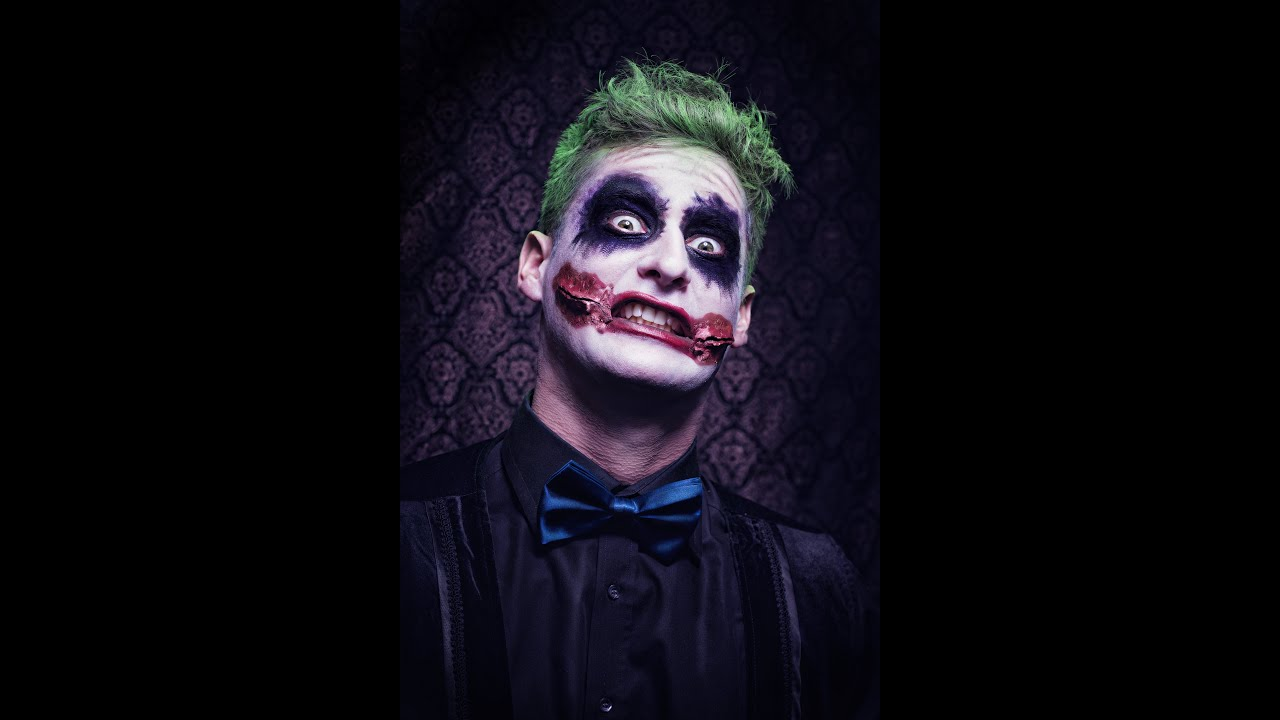 halloween tutorial joker schminken youtube. Black Bedroom Furniture Sets. Home Design Ideas