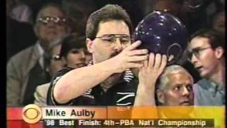 1998 PBA Brunswick Bayer TPC: Match 1: Horan vs Weber vs Aulby part 1